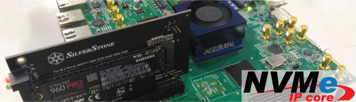 [NVMe-IP] 独自PCIeブリッジコア内蔵で、劇的にパフォーマンス向上!